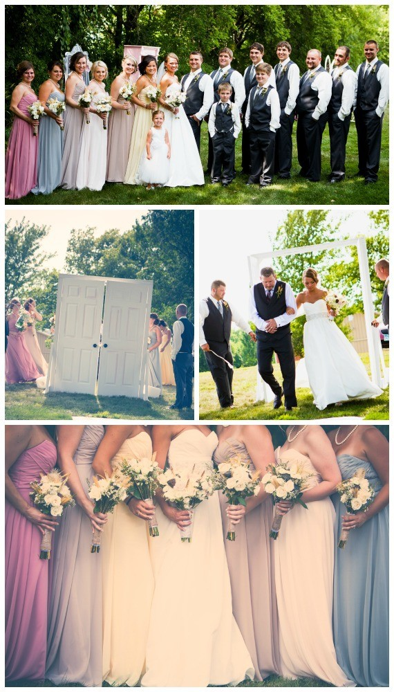 James & Nadine, Vintage Glam Meets Rustic Chic, Outdoor Ceremony & Wedding Reception, Shepherd's Hill Farm, Southern Mn, Midwest Real Wedding Inspiration, Images: SR Photography
