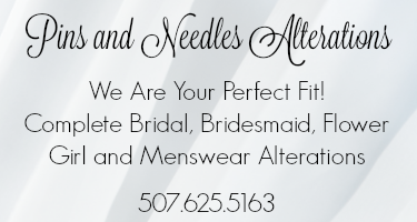 mankato wedding dresses, alterations, tailor shop, tux fitting, measurements, minnesota wedding