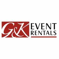 G & K Rental, tent rental, chair rental, table rental, wedding rental, mankato wedding